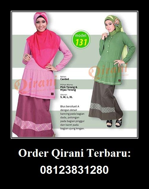 Qirani Blouse Model 131, Hubungi : HUBUNGI :  Whatsapp : +62 812-3831-280  SMS : +62 812-3831-280 BBM : 5F03DE1D