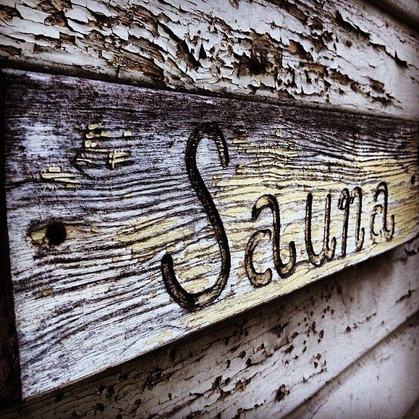 #Finnish #Sauna in Summer, then jump into the pool! Whoo hoo!