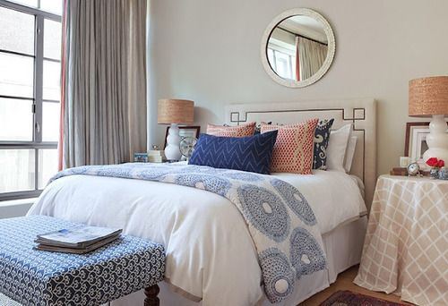 love this bedroom.... everything.  Southern Charm