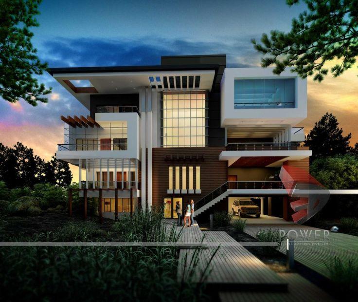 Ultra Modern Home Exteria: 25+ Best Ideas About Ultra Modern Homes On Pinterest