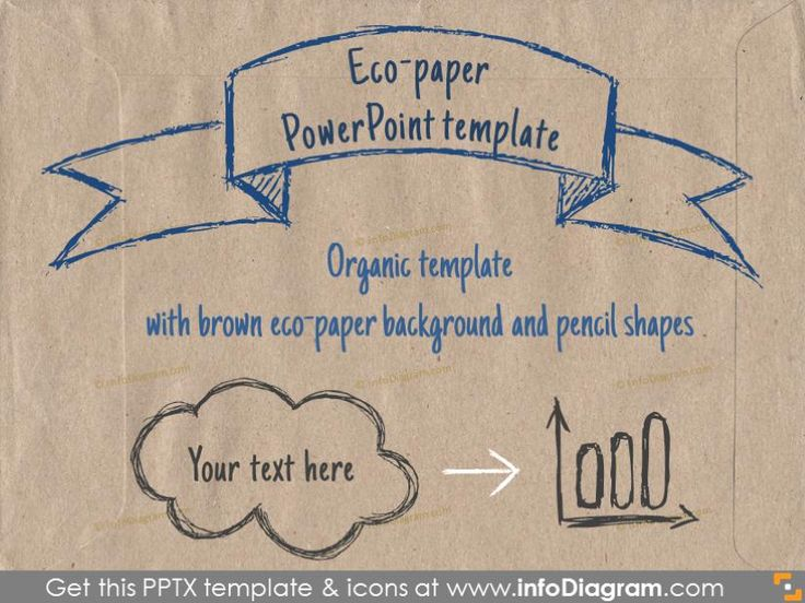 Brown Eco Paper PowerPoint Template