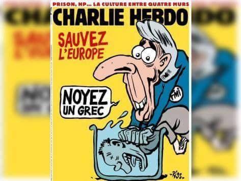 Charlie Hebdo: Πνίξτε έναν Έλληνα (pic)   Plus: Διεθνή   gazzetta.gr