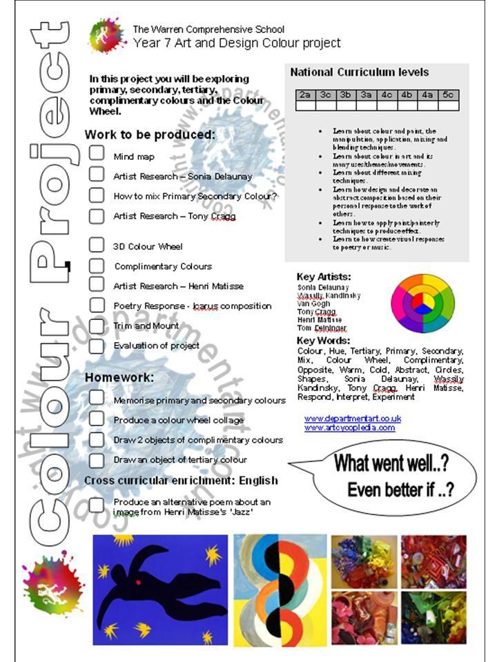 Colour Project Brief 2010