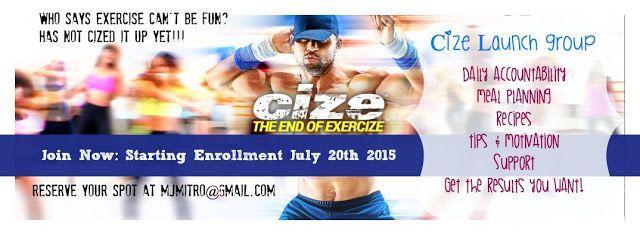 Cize, Launch, Test Group, MElanie Mitro, Get Cize, What Is CIze, Team Beachbody, Cize Launch Group, Cize Nutrition Plan, Clean Eating, Dance, Hip Hop