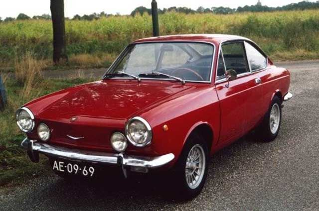 Fiat 850 sport coupe, My love affair with the Fiat ended when I met my Lotus Cortina.
