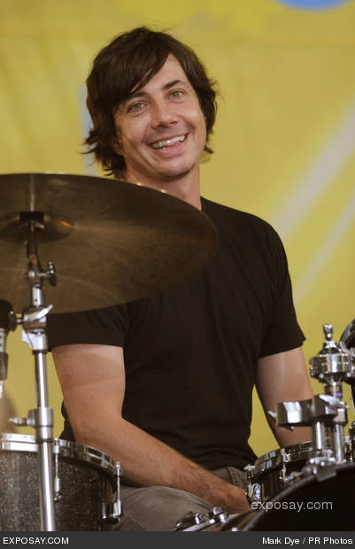 Matt Flynn...I swear out of 100 pics there is only this one of him smiling...lol....he's still cool.
