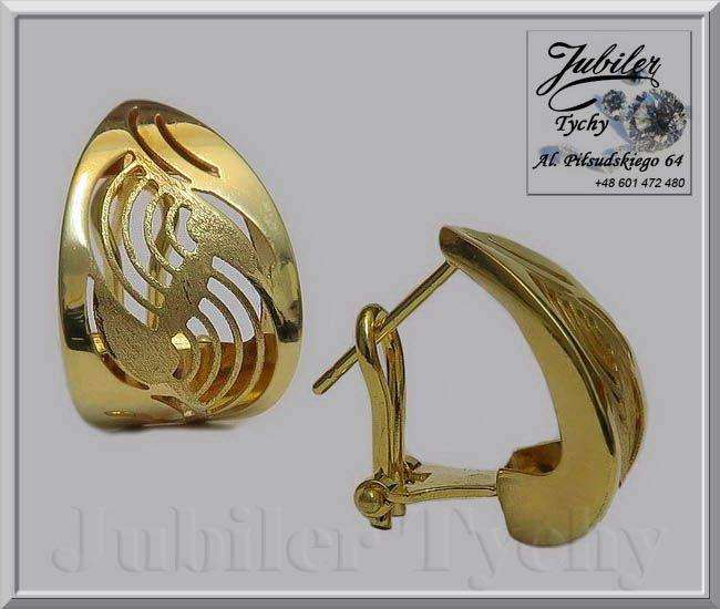 #Złote #kolczyki #łezki #złoto #Au585 #Jubiler #Tychy #Gold #Jeweller #Tyski #Złotnik #jubilertychy #złota #biżuteria #wyroby #złote #Pracownia #Złotnicza w #Tychach #Promocje : ➡ https://jubilertychy.pl/promocje 💎