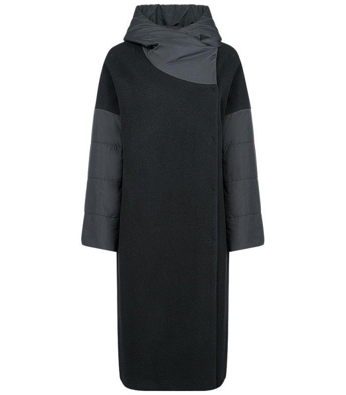 Утепленное женское пальто Gamelia experience 188521000, приобрести в интернет магазине с доставкой, цена с фото в Москве