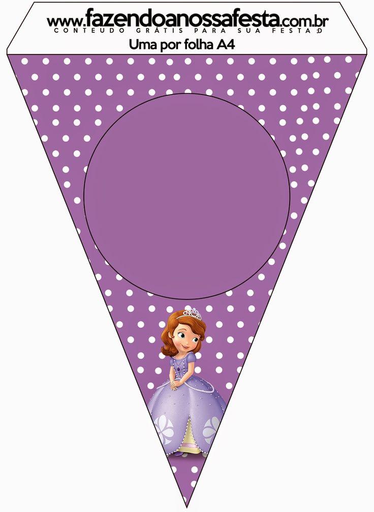 """Sabor de Fiesta : Kit imprimibles gratis de """"Princesa Sofía"""""""
