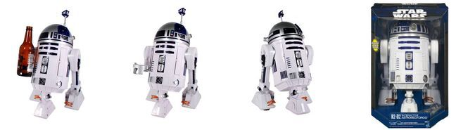 Interactive Astromech Droid Star Wars R2-D2 Bottle, Toy Box //coolpile.com/gear-magazine/get-your-own-voice-activated-r2-d2-interactive-droid/ via CoolPile.com - $176 -   Amazon.com, Cool, Gifts For Him, R2-D2, Star Wars, Toys