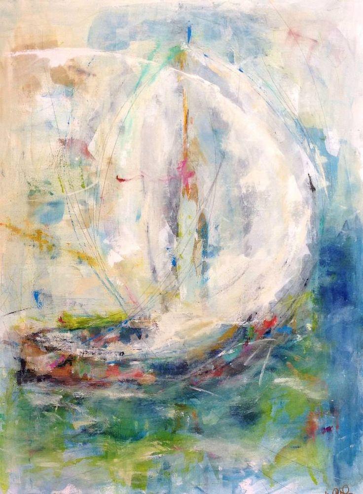 "Saatchi Art Artist Linda Donohue; Painting, ""Latitude 38"" #art"