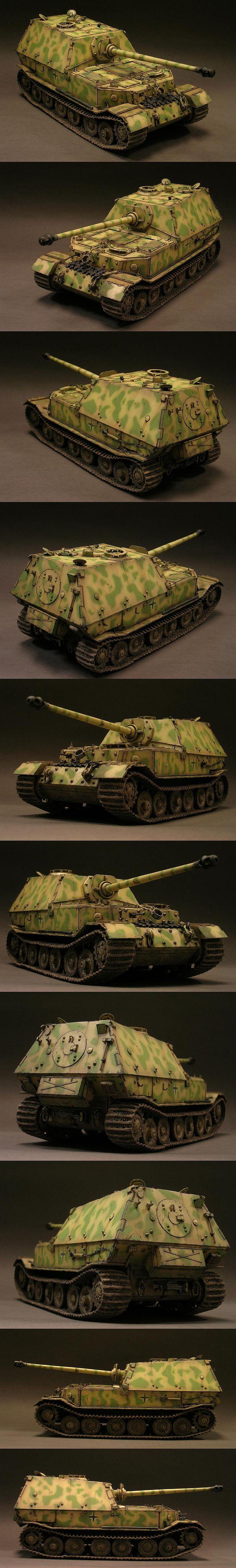 Panzerjager Tiger (P) Sd. Kfz. 184 Elefant 1/35 Scale Model