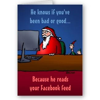 Funny Christmas cards.