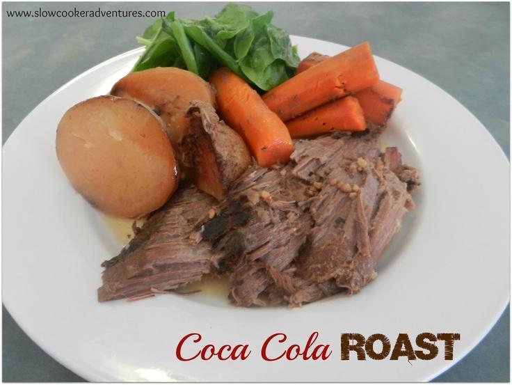 Coca Cola Roast  Slow Cooker/CrockPot Recipe