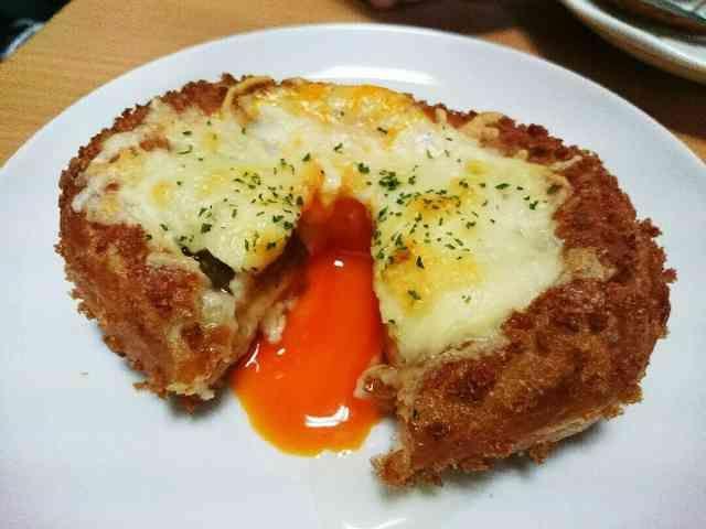 とろ~り☆チーズと卵のカレーパンの画像