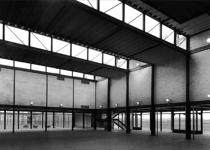 Alison & Peter Smithson - Hunstanton Secondary School - 1949-54