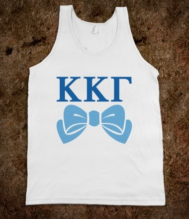 Kappa Kappa Gamma Frat Tanks - Kappa Kappa Gamma Bows Frat Tanks. Sorority Shirts. CLICK HERE to purchase :) Buy 1 or 100!
