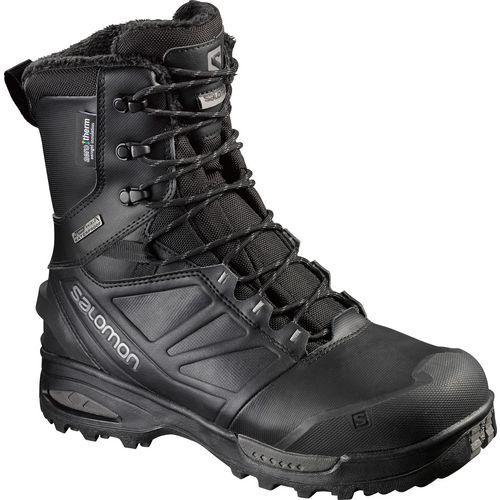 Salomon Men's Toundra Pro Scwp Hiking Boots (Black/Grey, Size 7.5) - Men's Outdoor at Academy Sports