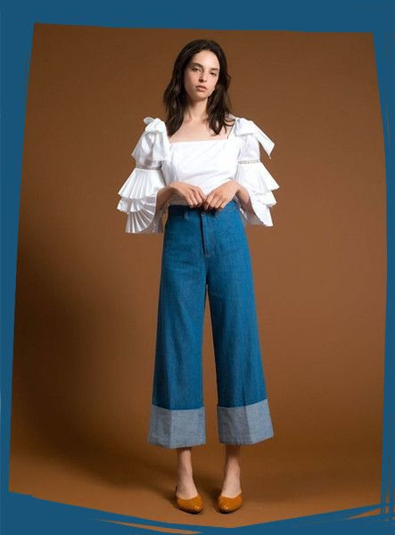 Wide Leg Pants To Ditch Your Skinnies Over - How to Style Wide Leg Pants - Photos