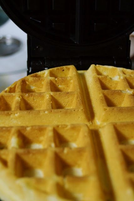 Mickey Waffles. I have the waffle maker; now all I need is this! :)