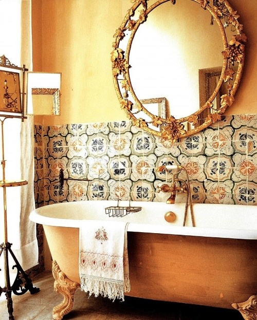 Decorating In Old World Italian Style Photo Credit Style Diary