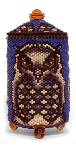 Owl Box - julia s. pretl - patterns
