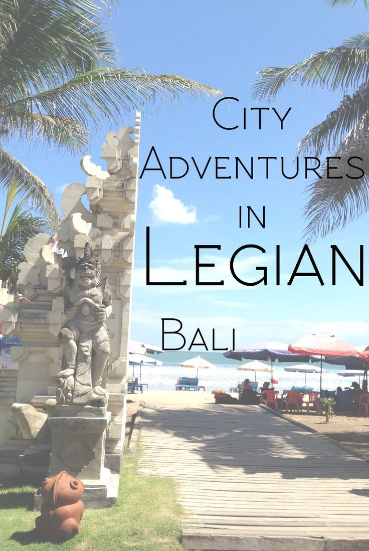 See how we spent the last 2 days of our Bali adventures, exploring Legian - the northern subdivision of Kuta, Bali's tourist hub.