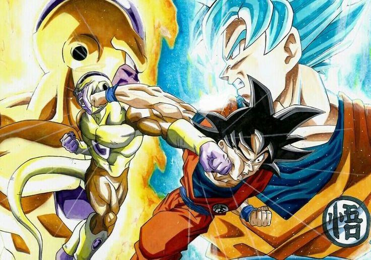 Freezer vs Goku (DBS)