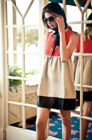 BDBA Spring/Summer 2012 Catalogue: Fashion Styles, Style Fashion, Colorblock Dress
