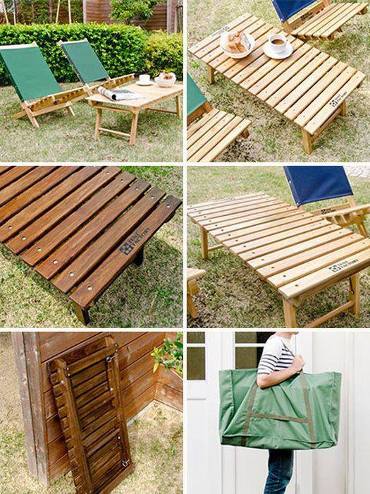 【送料無料】【完成品】グランドテーブルチェアイスアウトドア折りたたみ式ガーデンアウトドアキャンプウッドライングランドテーブル単体販売ブラウンナチュラル