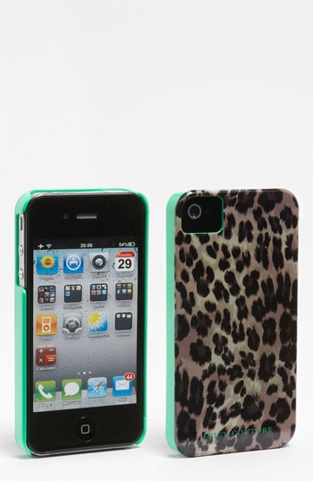 Juicy Couture Leopard Print iPhone 4 & 4S Case available at #Nordstrom