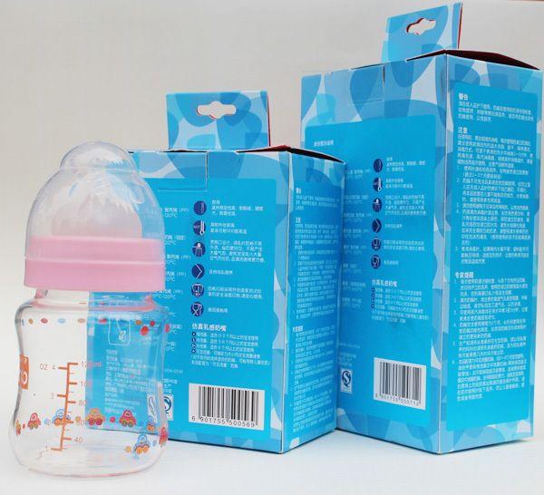 Panas menjual di Alibaba seluruh penjualan leher standar 60 ml susu bayi desain botol air
