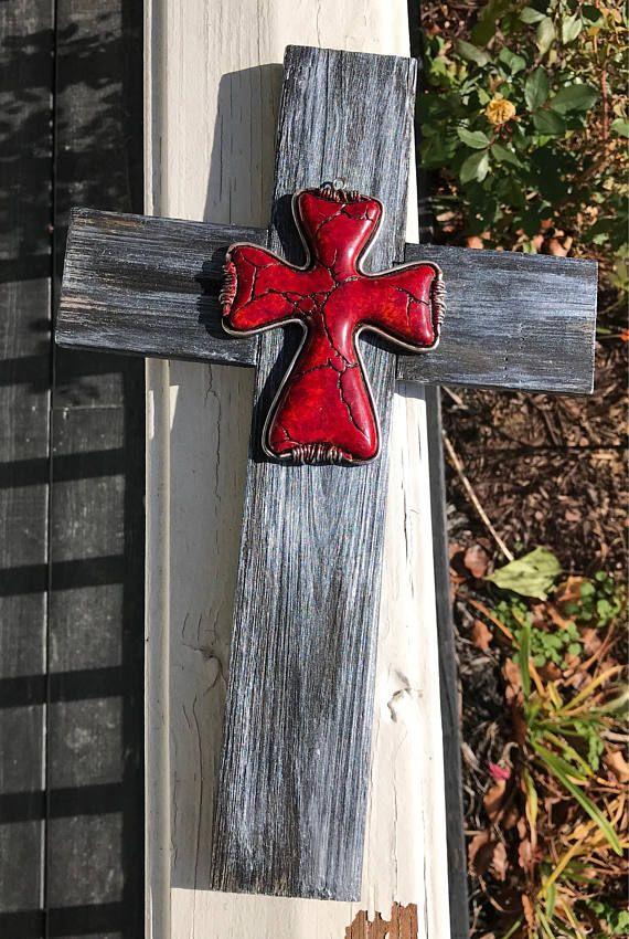 Silver Cross Metallic Wood