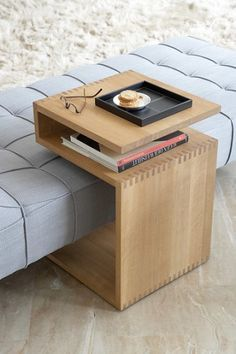 Beautiful and practical coffee table for your living or bedroom. Discover more: coffeeandsidetables.com | #woodencoffeetables #moderncoffeetables #smallcoffeetable