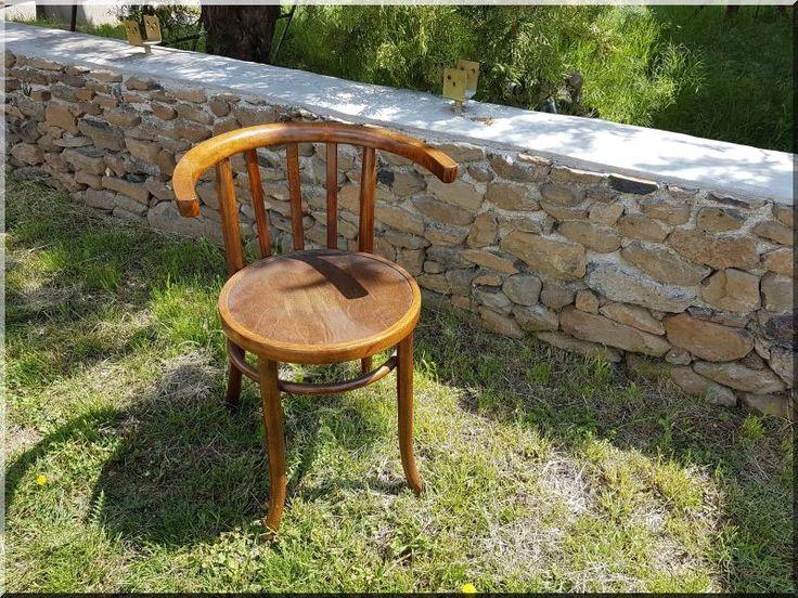 Antik fa szék