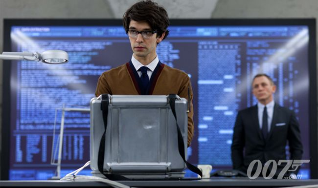"""Ben Whishaw as Q in """"Skyfall"""" (2012)."""