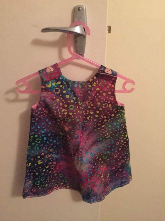 Summer dress pinafore by SewNSewsDesigns on Etsy