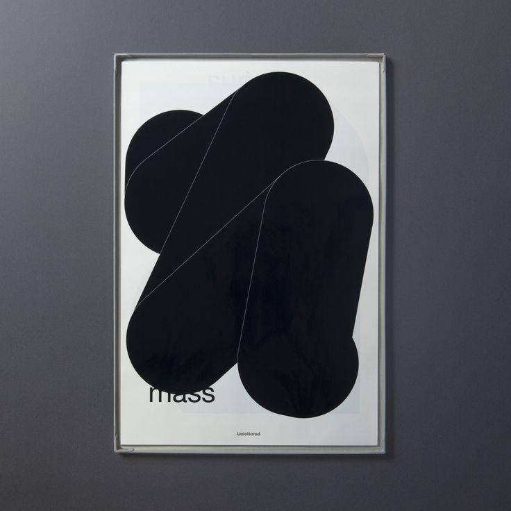 """Unlettered"" artbook [ 26 sheets of poster ] / TOKYO TDC prize 2016 [ JPN / ENG ] / D&AD AWARDS 2016 Graphite Pencil [ Graphic Design Category ]"