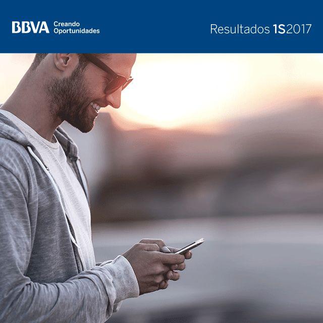 Resultados BBVA 2T17 - Clientes digitales
