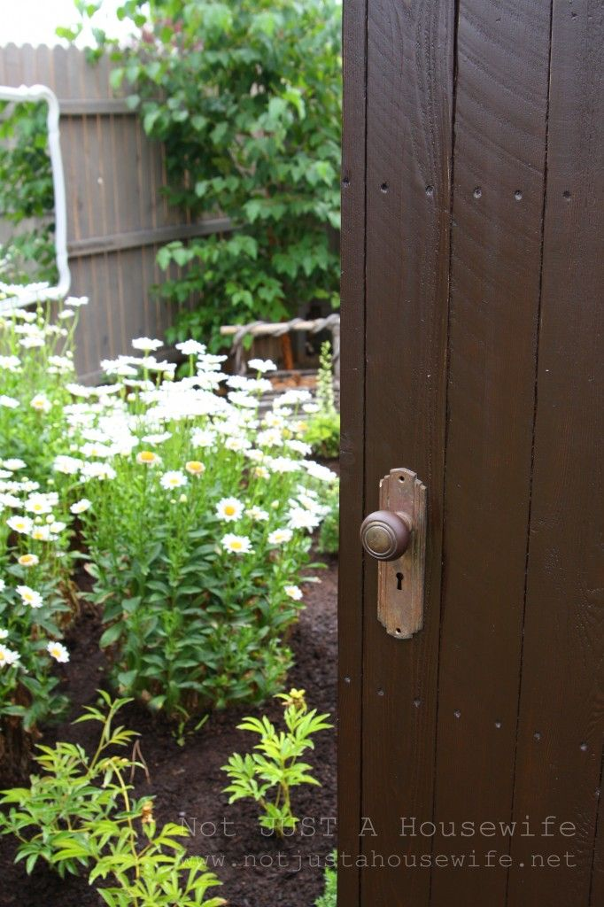 Take a tour of a real secret garden!