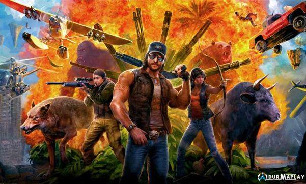 Far Cry 5 Icin Lost Haritasi Yapildi Lost Ve Resim