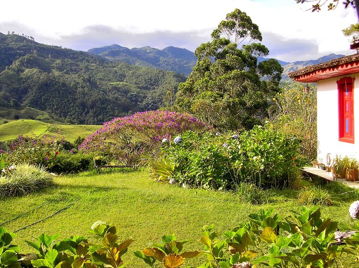 Salento, a beautiful hidden village in the department of Quindio, Colombia.