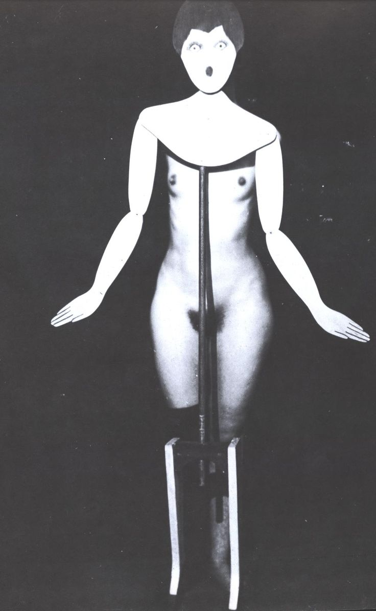 The Coat Stand - Man Ray