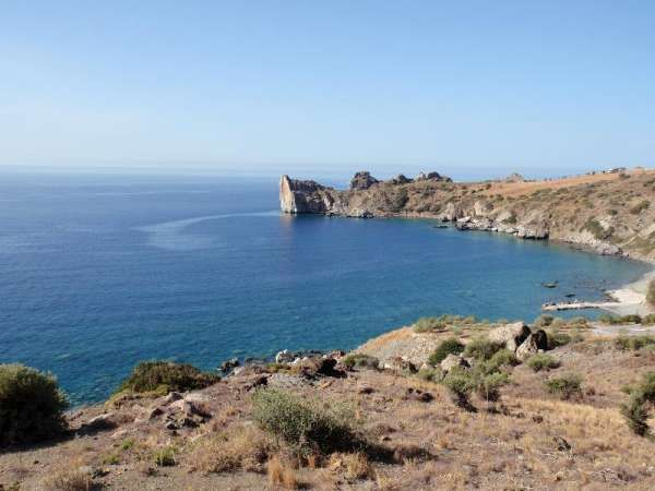 Sea front land of 12.500 sq.m in Agios Pavlos, Rethymno, Crete, Greece