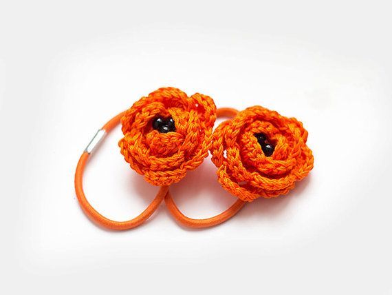 Crochet Hair Ties Pinterest : ... Crochet - Motif Pinterest Elastic Hair Ties, Hair Ties and Crochet