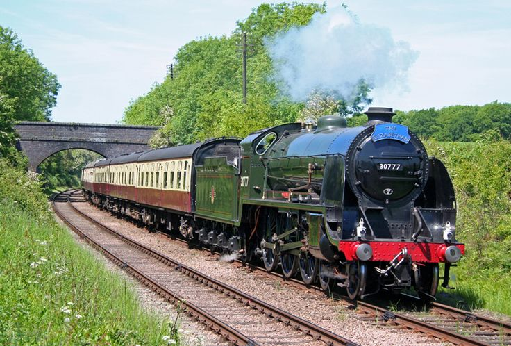 """No.30777 """"Sir Lamiel"""" Southern Railway King Arthur Class 4-6-0 Built at North British Locomotives Works, Glasgow in 1925. Withdrawn 1961. Arrived at the GCR in 1995. Returned to steam in 2006. Operational. Operates on Network Rail and GCR"""