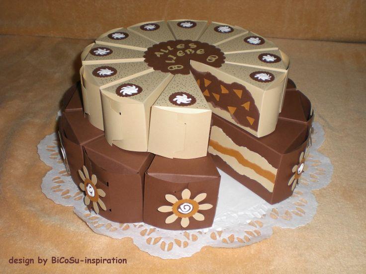 Papier Hochzeitstorte - Papiertorte / Wedding Paper Cakes - Papercake