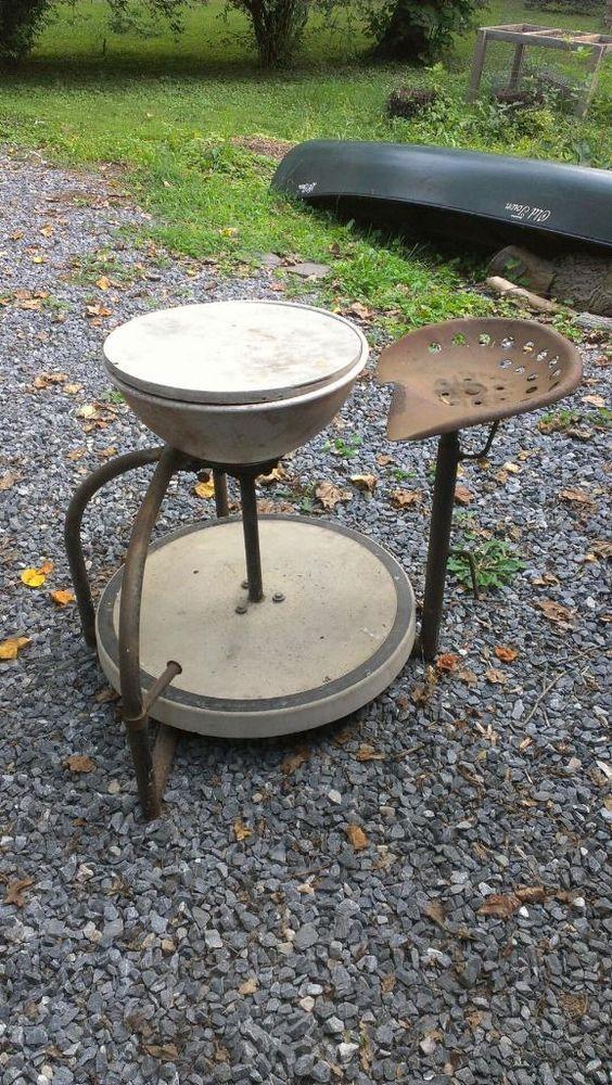 Antique Randall Kick Pottery Wheel #Randall