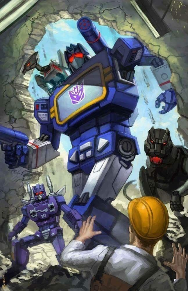 Soundwave and his minions | transformers saga | Transformers