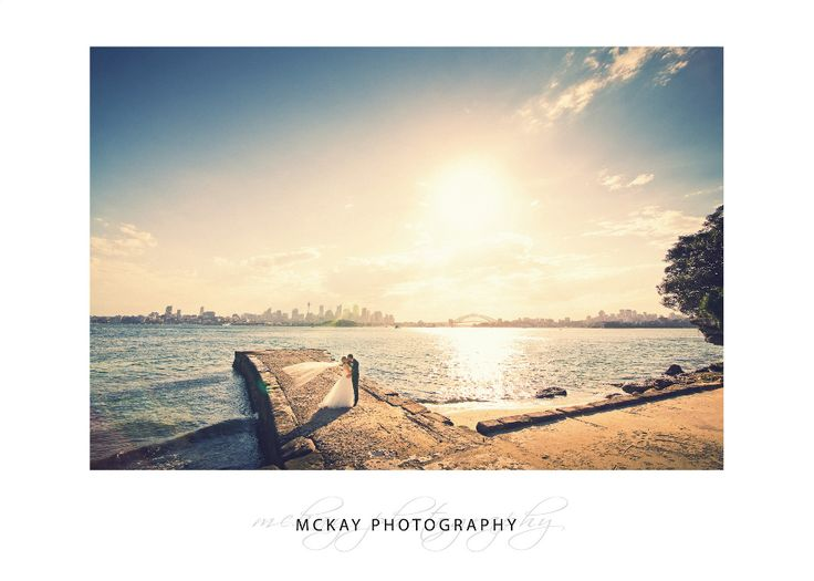 Bradley's Head - an awesome wedding ceremony & photo location right on Sydney Harbour  #wedding #weddingphotographysydney #bradleysheadwedding